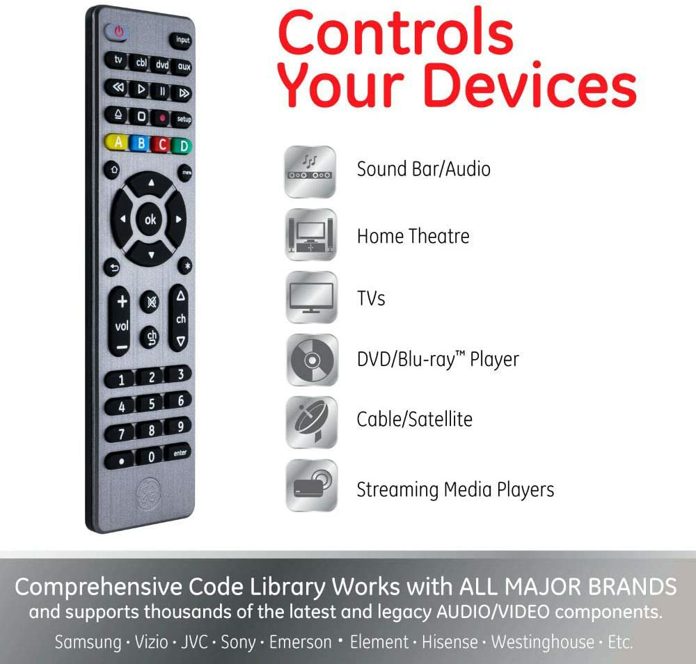 General Electric Universal Remote